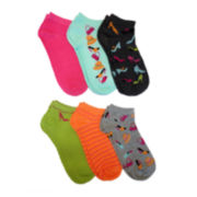 6-pk. Shopping Low-Cut Socks