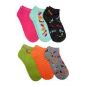 6-pk. Shopping Low-Cut Socks