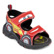 Disney Cars Boys Sandals - Little Kids