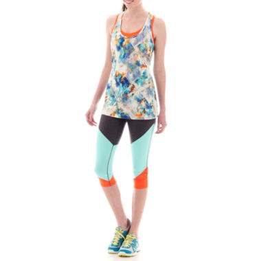jcpenney.com | Xersion™ Singlet Tank Top or Colorblock Capris - Tall