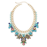 Natasha Multicolor 2-Row Statement Necklace