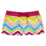 Okie Dokie® Pull-On Print Shorts – Girls newborn-24m