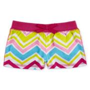 Okie Dokie® Pull-On Print Shorts - Girls newborn-24m