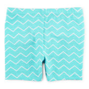 Okie Dokie® Bike Shorts - Girls newborn-24m