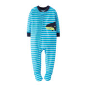 Carter's® Shark Footie Pajamas - Baby Boys 12m-24m