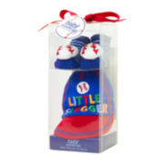 2-pc. Little Slugger Cap and Socks Set - Baby Boys newborn-6m