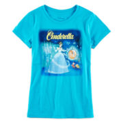 Cinderella Graphic Tee – Girls 7-16