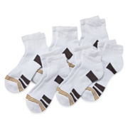 Gold Toe® 6-pk. Performance Quarter Socks - Boys 7-11