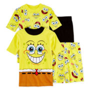 SpongeBob 4-pc. Pajama Set - Boys 4-12