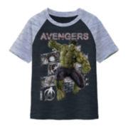 Marvel Avengers Hulk Raglan Tee - Boys 8-20