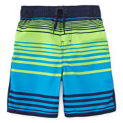 Arizona Striped Swim Trunks – Preschool Boys 4-7