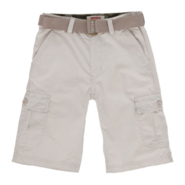jcpenney.com | Levi's® Belted Cargo Shorts - Boys 8-20