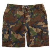 Arizona Pull-On Cargo Shorts – Baby Boys 3m-24m
