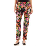 Maternity Floral Print Slouch Drawstring Pants - Plus