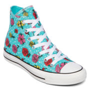 Converse Chuck Taylor All Star Womens High-Top Floral Sneakers
