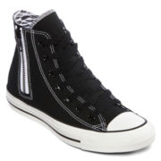 Converse Chuck Taylor All Star Womens Side-Zip High-Top Sneakers