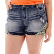 Vanilla Star® Festival Denim Shorts - Plus