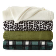 Cuddl Duds® Foot Pocket Throw