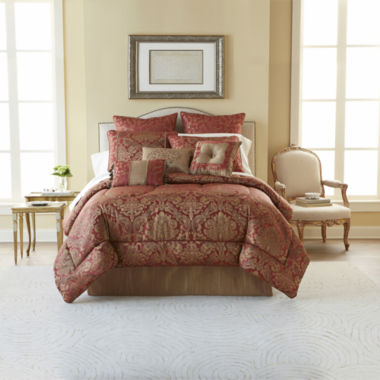 jcpenney.com | Laurel Hill 7-pc. Jacquard Comforter Set & Accessories