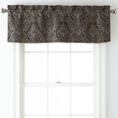 jcpenney.com | Royal Velvet® Manchester Rod-Pocket Tailored Valance
