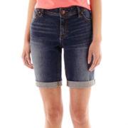 a.n.a® Denim Bermuda Shorts - Petite