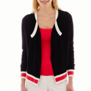 Worthington® Long-Sleeve Asymmetrical Cardigan