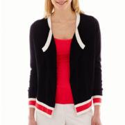 Worthington® Long-Sleeve Asymmetrical Cardigan
