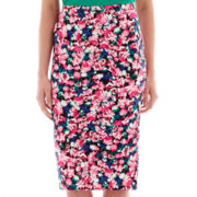 I 'Heart' Ronson® Print Pencil Skirt