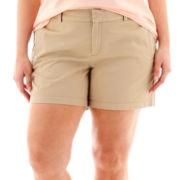 Stylus™ Twill Shorts - Plus