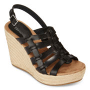 MIA girl Basket Wedge Sandals