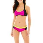 Nike® Racerback Sports Bra Swim Top or Hipster Bottoms