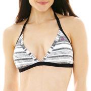 Nike® Diffused Heather Reversible Halter Bra Swim Top