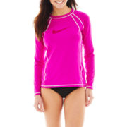 Nike® Hydro Rashguard Swim Top or Brief Bottoms
