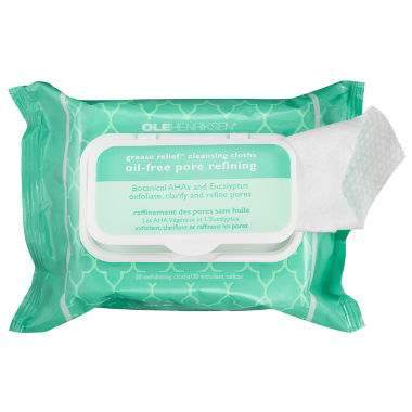 jcpenney.com | Ole Henriksen Grease Relief™ Cleansing Cloths: Oil-Free Pore Refining