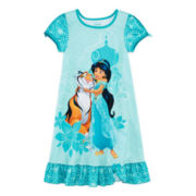 Disney Collection Jasmine Nightshirt – Girls 2-10