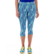Xersion™ Allover Print Capris - Plus