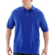 IZOD® Short-Sleeve Solid Piqué Polo-Big & Tall