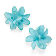 Carole 2-pk. Double Flower Glitter Barrettes