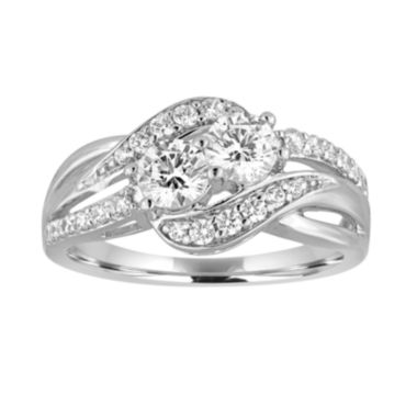 jcpenney.com | Two Forever™ 1 C.T. TW. Diamond 10K White Gold Ring