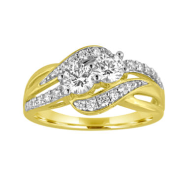 jcpenney.com | Two Forever™ 1 C.T. TW. Diamond 10K Yellow Gold Ring