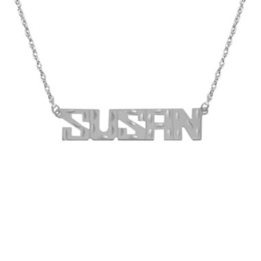 jcpenney.com | Personalized Diamond-Cut Name Necklace