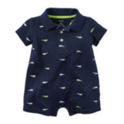 Carter's® Short-Sleeve Fish Romper - Baby Boys newborn-24m