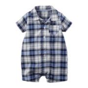 Carter's® Short-Sleeve Romper - Baby Boys newborn-24m