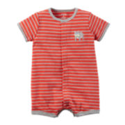 Carter's® Short-Sleeve Striped Creeper - Baby Boys newborn-24m