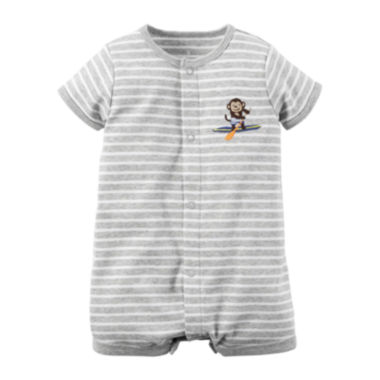 jcpenney.com | Carter's® Short-Sleeve Monkey Creeper - Baby Boys newborn-24m