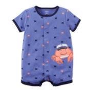 Carter's® Short-Sleeve Creeper - Baby Boys newborn-24m