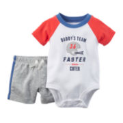 Carter's® Short-Sleeve Bodysuit and Shorts Set - Baby Boys newborn-24