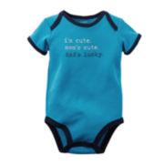 Carter's® Short-Sleeve I'm Cute Bodysuit – Baby Boys newborn-24m