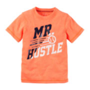 Carter's® Short-Sleeve Mr. Hustle Tee – Toddler Boys 2t-5t
