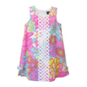 Lilt Sleeveless Floral Shift Dress - Preschool Girls 4-6x